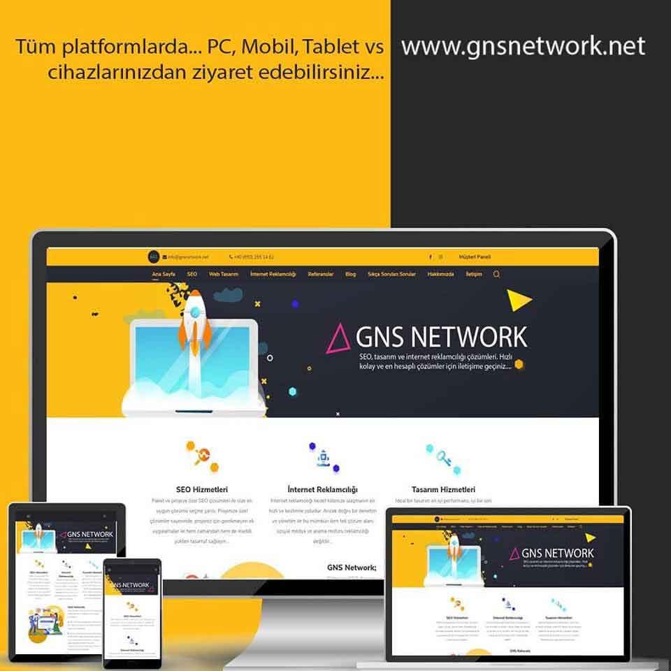 GNS Network - Web Tasarım SEO Reklamcılık 2