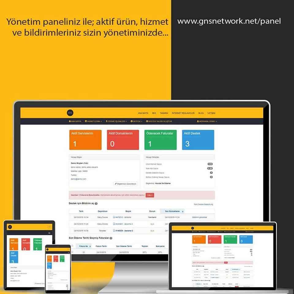 GNS Network - Web Tasarım SEO Reklamcılık 3