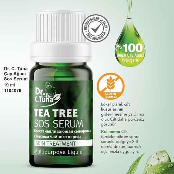 Farmasi Dr.C.Tuna Çay Ağacı Yağlı Sos Serumu 3