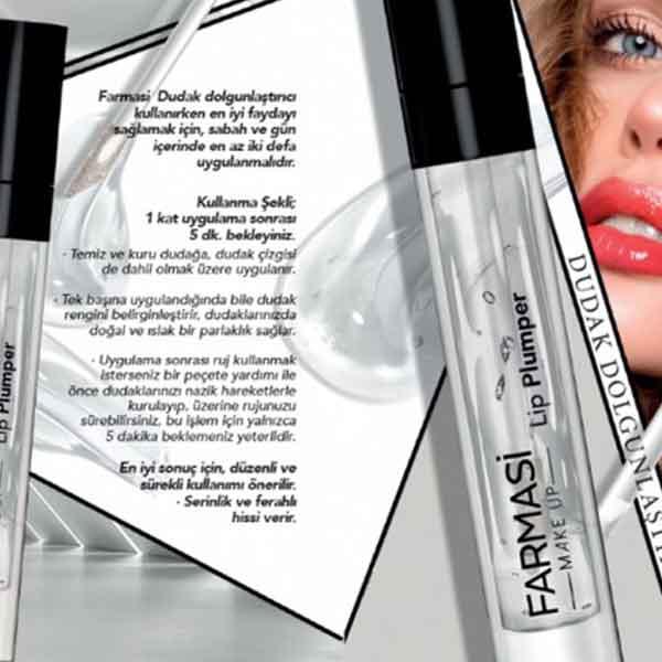 Farmasi Lip Plumper Dudak Dolgunlaştırıcı 1
