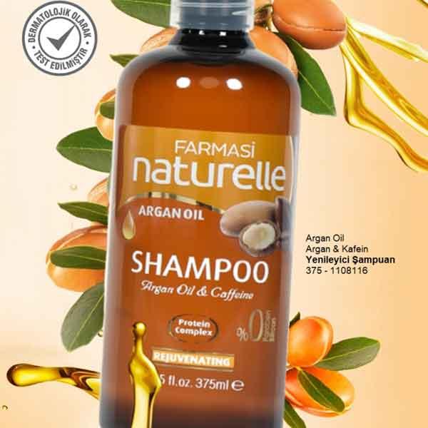 Farmasi Naturelle Argan Yağı Şampuanı 2