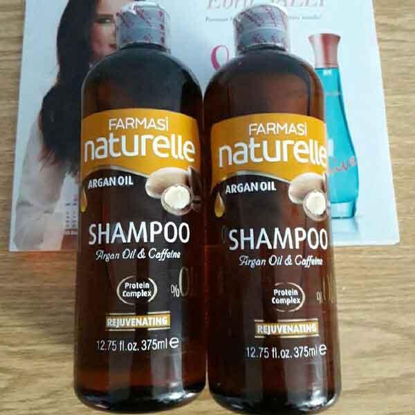 Farmasi Naturelle Argan Yağı Şampuanı 3