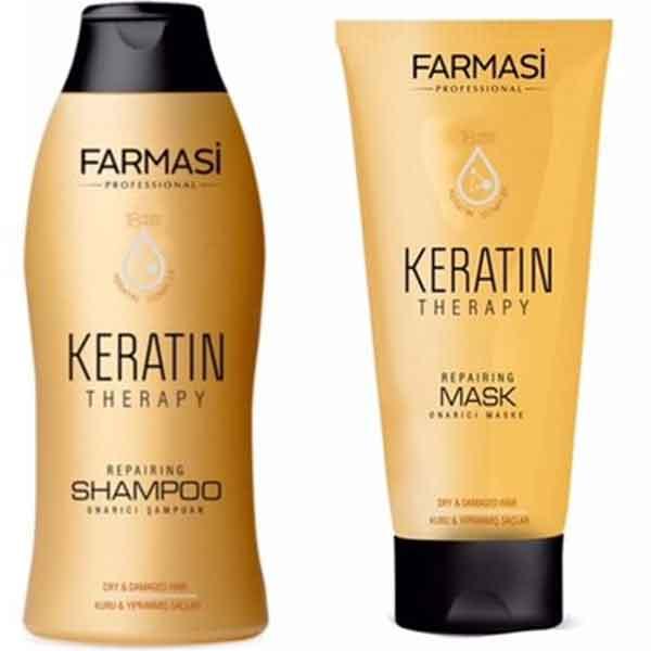 Farmasi Professional Keratin Therapy Onarıcı Şampuan 3