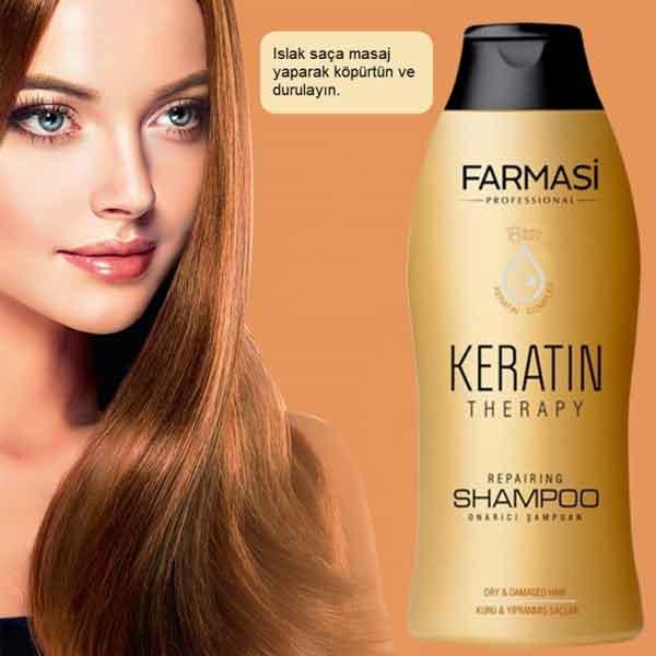 Farmasi Professional Keratin Therapy Onarıcı Şampuan 5
