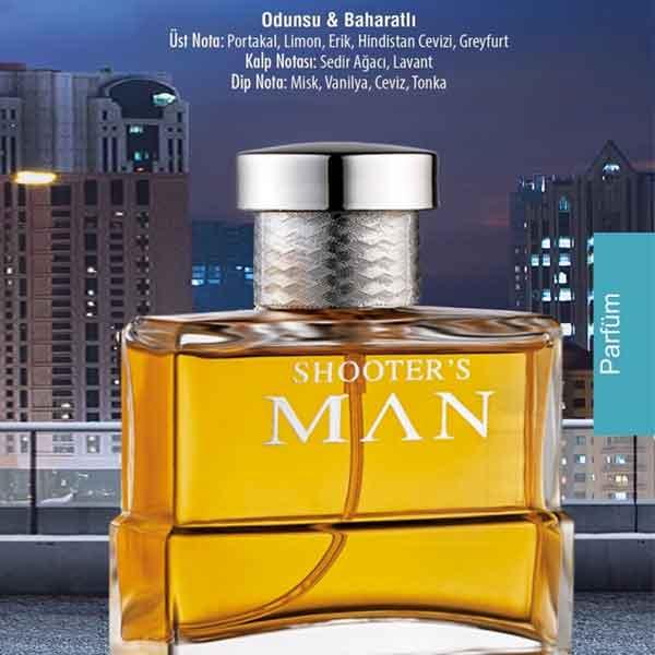 Farmasi Shooter'S Man Edp For Men Erkek Parfüm 3