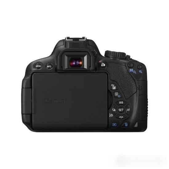 Canon EOS 650D 18-55MM IS II 18MP Fotoğraf Makinesi 6