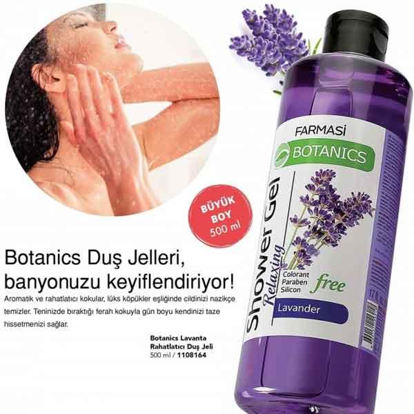 Farmasi Botanics Lavanta Özlü Rahatlatıcı Duş Jeli 3