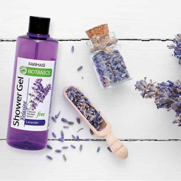 Farmasi Botanics Lavanta Özlü Rahatlatıcı Duş Jeli 4