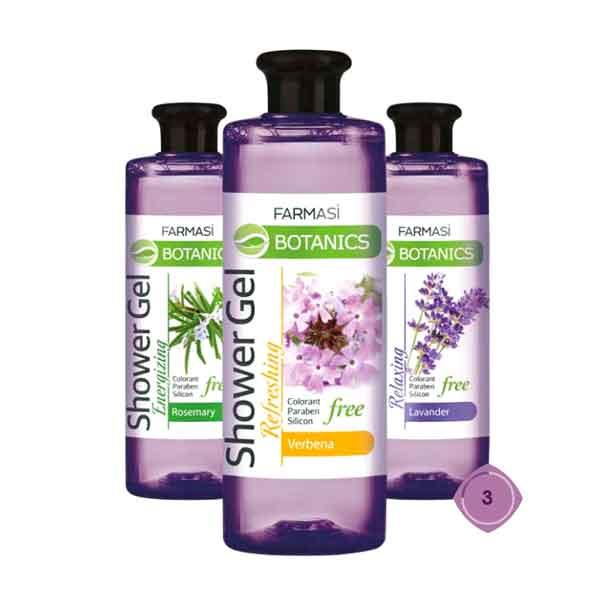 Farmasi Botanics Lavanta Özlü Rahatlatıcı Duş Jeli 6