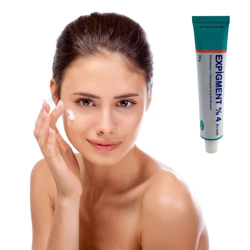 Expigment hidrokinon 4% krem cilt beyazlatma cilt aydınlatıcı 2
