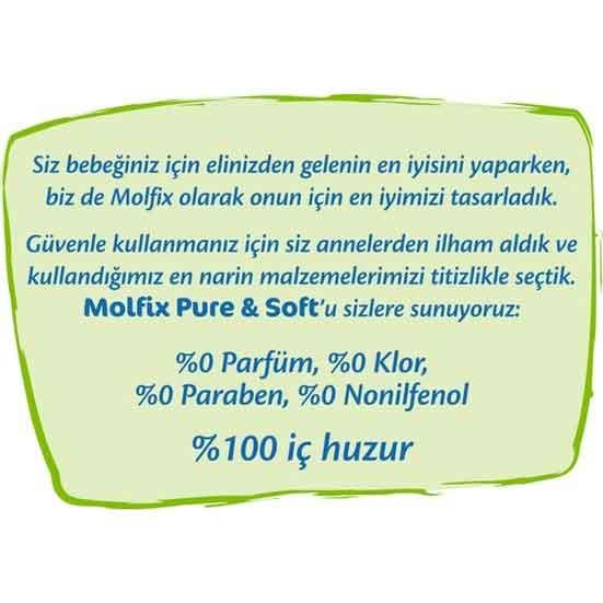 Molfix Pure & Soft 5 Beden Junior Bebek Bezi 5