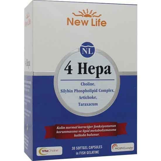 New Life 4 Hepa 30 Yumuşak Kapsül 1