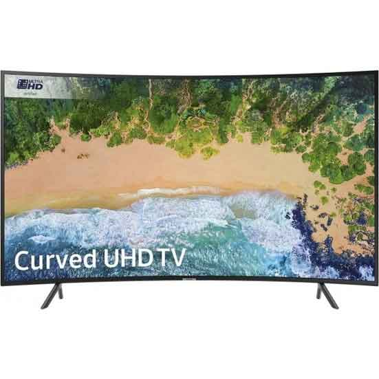 Samsung UE-55NU7300 140 Ekran Curved Uydu Alıcılı 4K Ultra HD Smart LED Televizyon 1