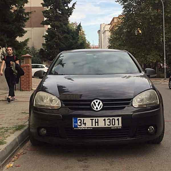 Volkswagen GOLF 1.6 PRIMELINE (102) 4 KAPI Otomobil 3