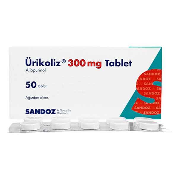 Ürikoliz 300 mg 50 Tablet 2