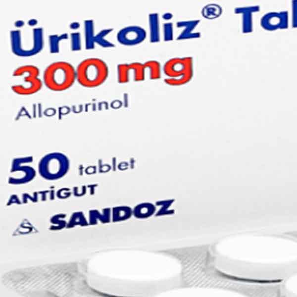 Ürikoliz 300 mg 50 Tablet 3