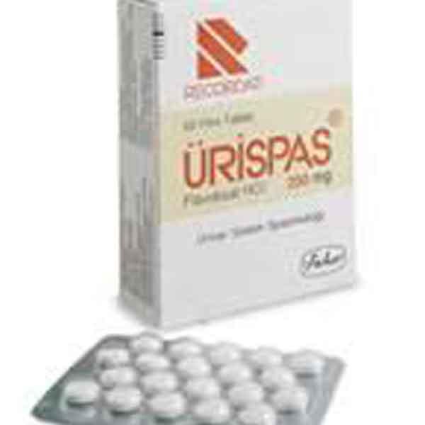 ÜRİSPAS 200 Mg Film Tablet 3