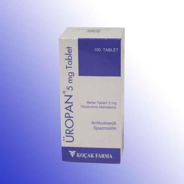 ÜROPAN 5 mg Tablet