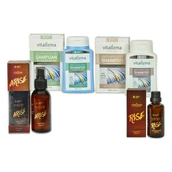 Vitalizma Arise Rise ve Vitalizma Anti Hair Loss Kremli ve Kremsiz 1