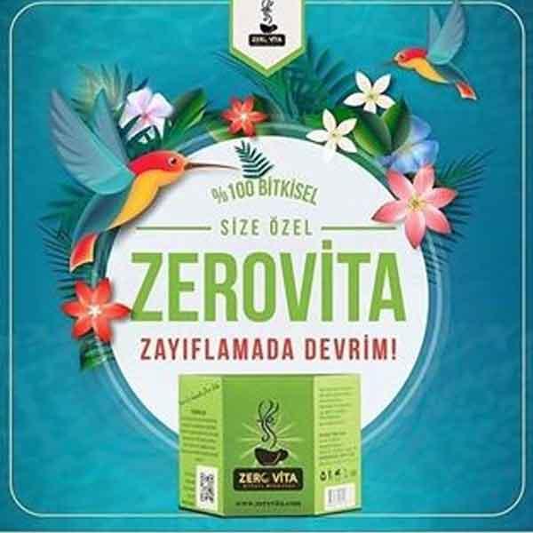 Zerovita Bitkisel Zayıflama Çayı 6