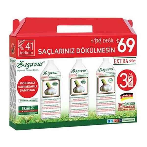 Zigavus Extra Plus Sarımsaklı Şampuan 1