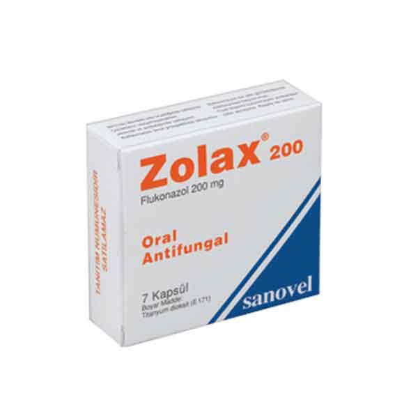 ZOLAX 200 mg Kapsül 1