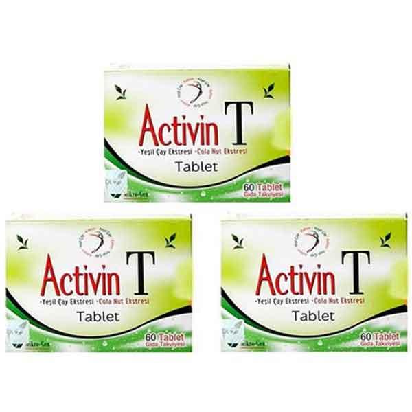 Activin T Bitkisel Tableti 3