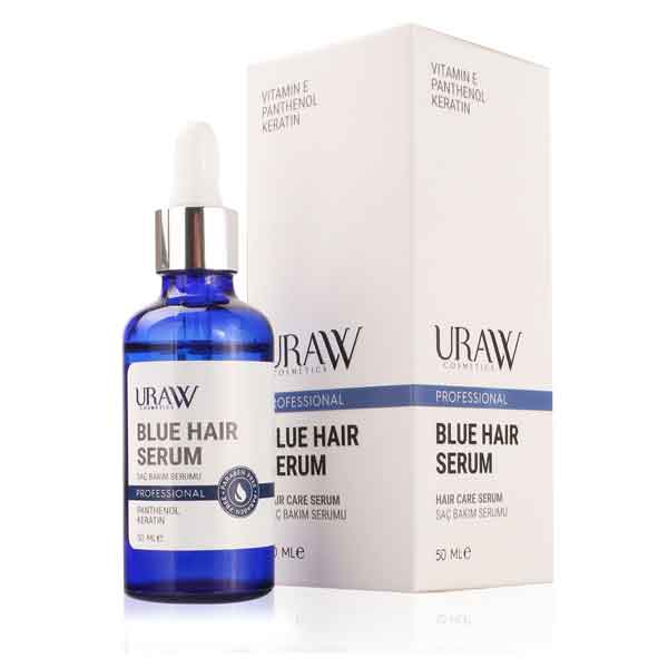 Uraw Professional Blue Hair Mavi Saç Bakımı Serumu 1