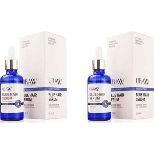 Uraw Professional Blue Hair Mavi Saç Bakımı Serumu 3