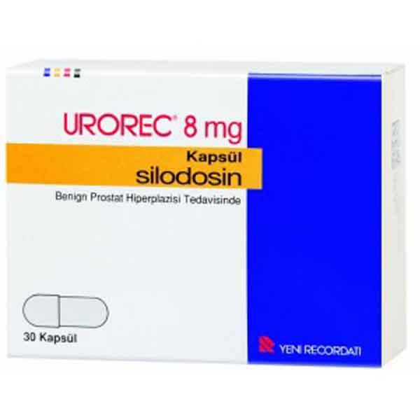 UROREC 8 mg 30 kapsül 1