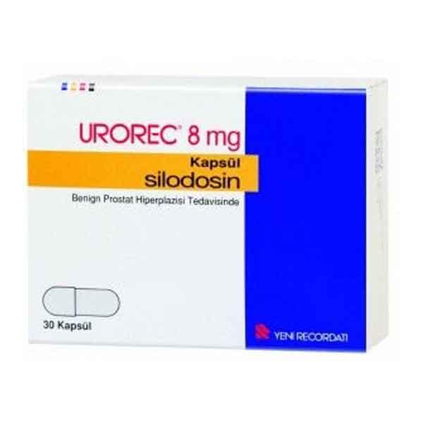 UROREC 8 mg 30 kapsül 3
