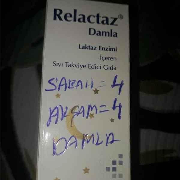 Relactaz Damla 15 ml 3