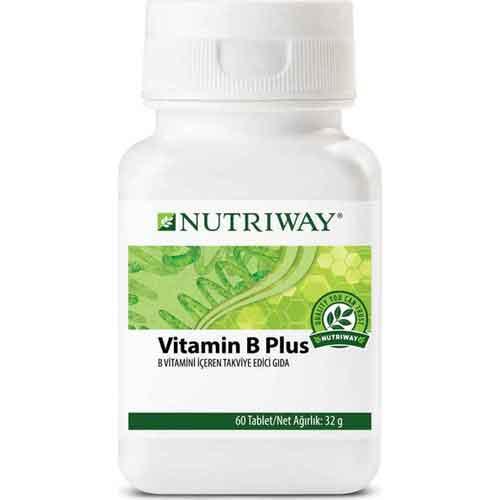 Amway NUTRIWAY Vitamin B Plus 60 Tablet 1
