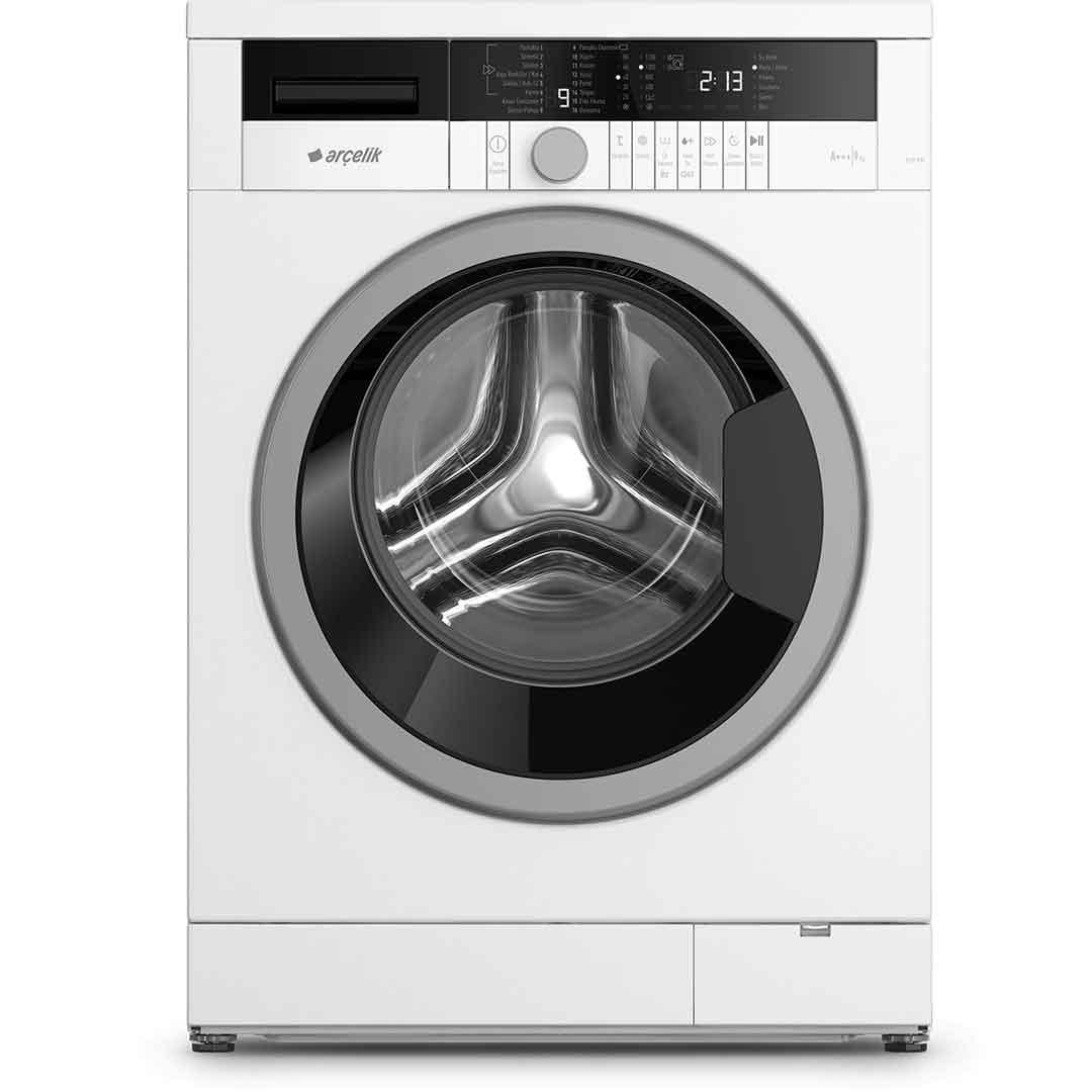 Arçelik 9123 HE A+++ 9 Kg 1200 Devir Çamaşır Makinesi 1