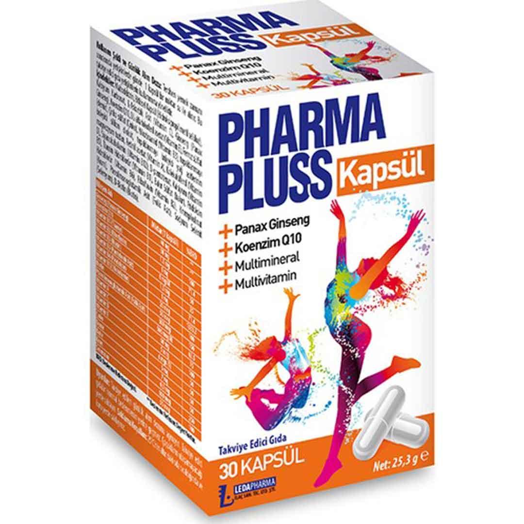Pharmaplus 30 Kapsül Panax Ginseng Co Q10 Multivitamin Multimineral 1