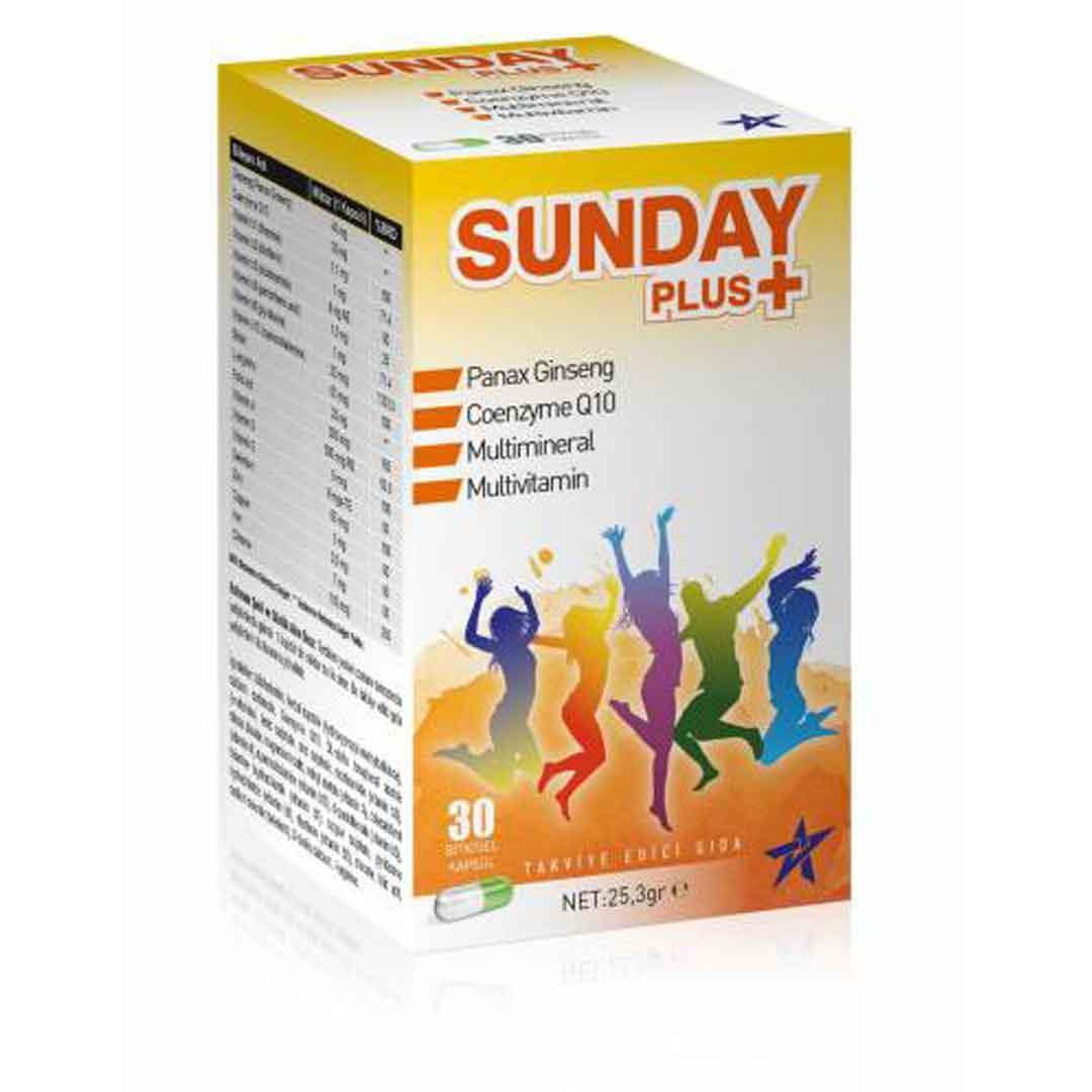 Pharmaplus 30 Kapsül Panax Ginseng Co Q10 Multivitamin Multimineral 2