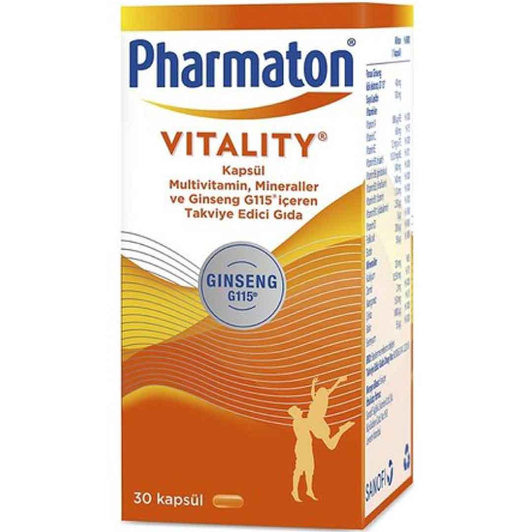 Pharmaplus 30 Kapsül Panax Ginseng Co Q10 Multivitamin Multimineral 3