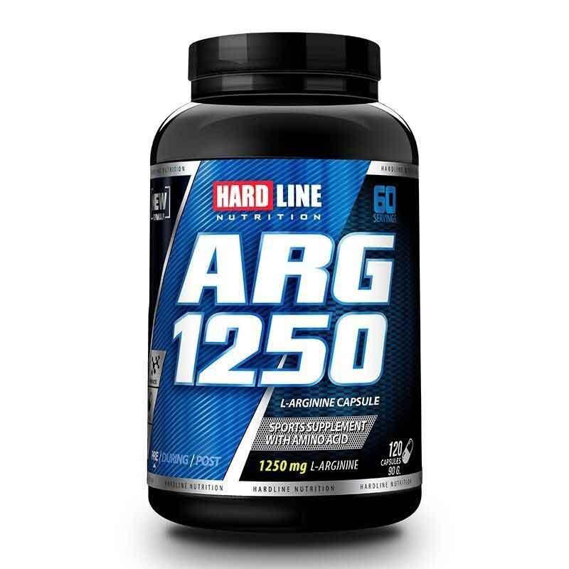 Hardline Arginin ARG1250 120 Tablet 1
