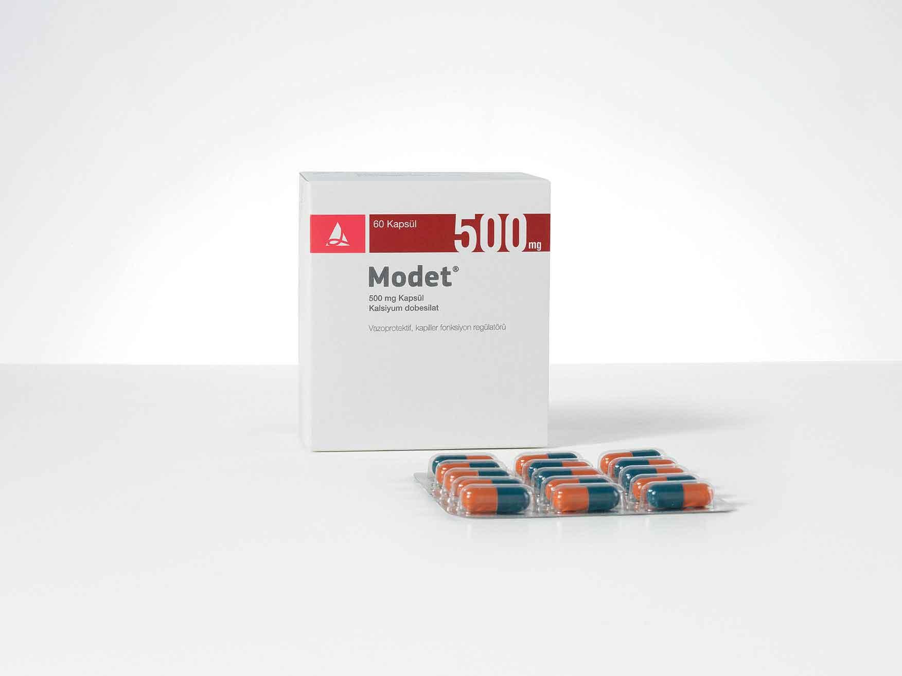 MODET 500 mg Kapsül 1