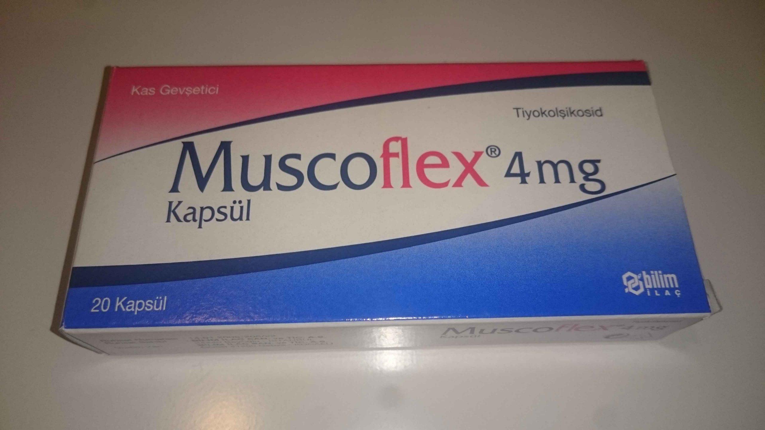 Muscoflex 4 mg Kapsül 1