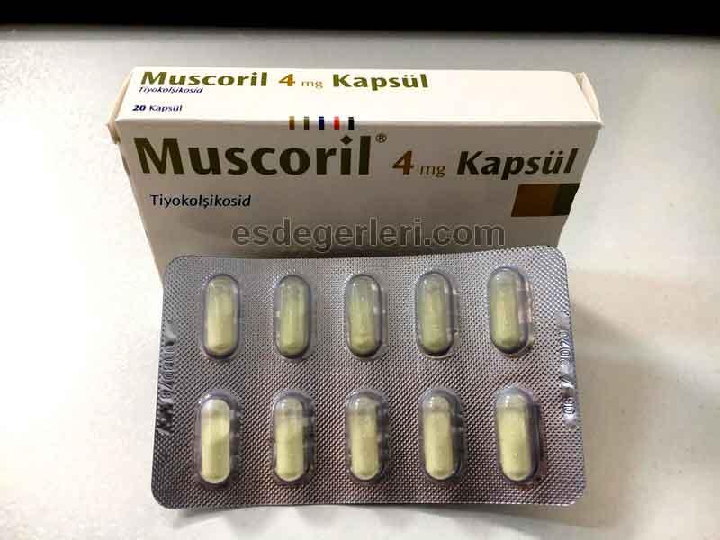 Muscoflex 4 mg Kapsül 3