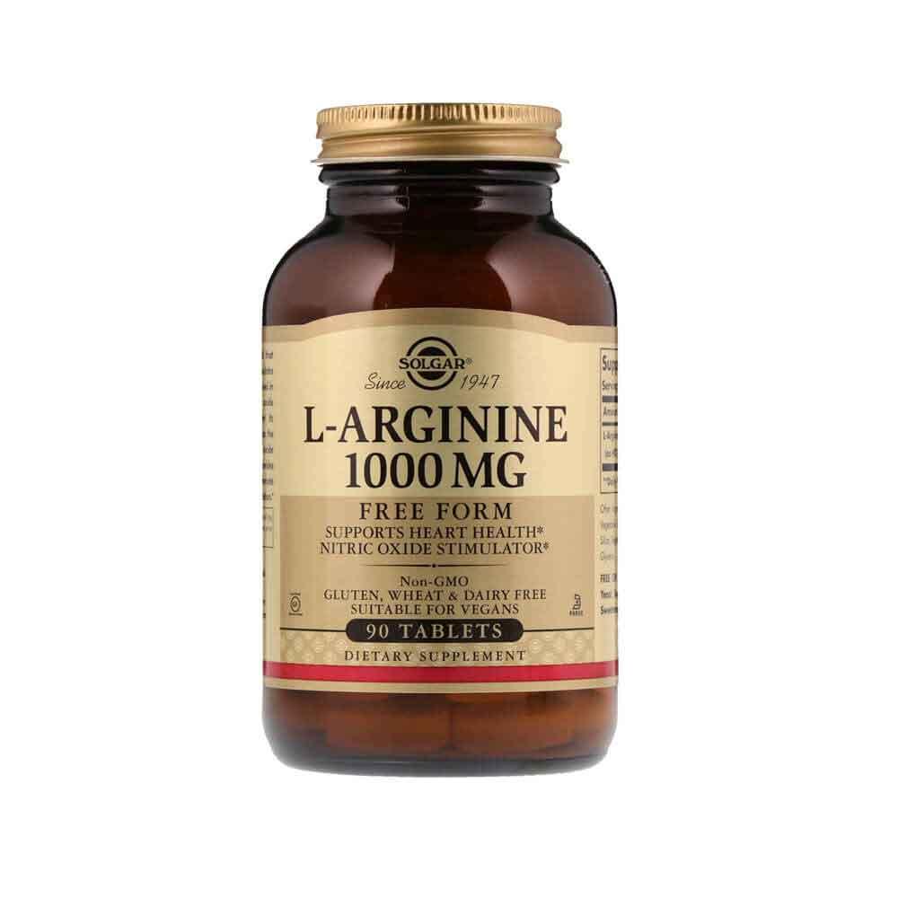 Solgar L-Arginine 1000 Mg 90 Tablet 1