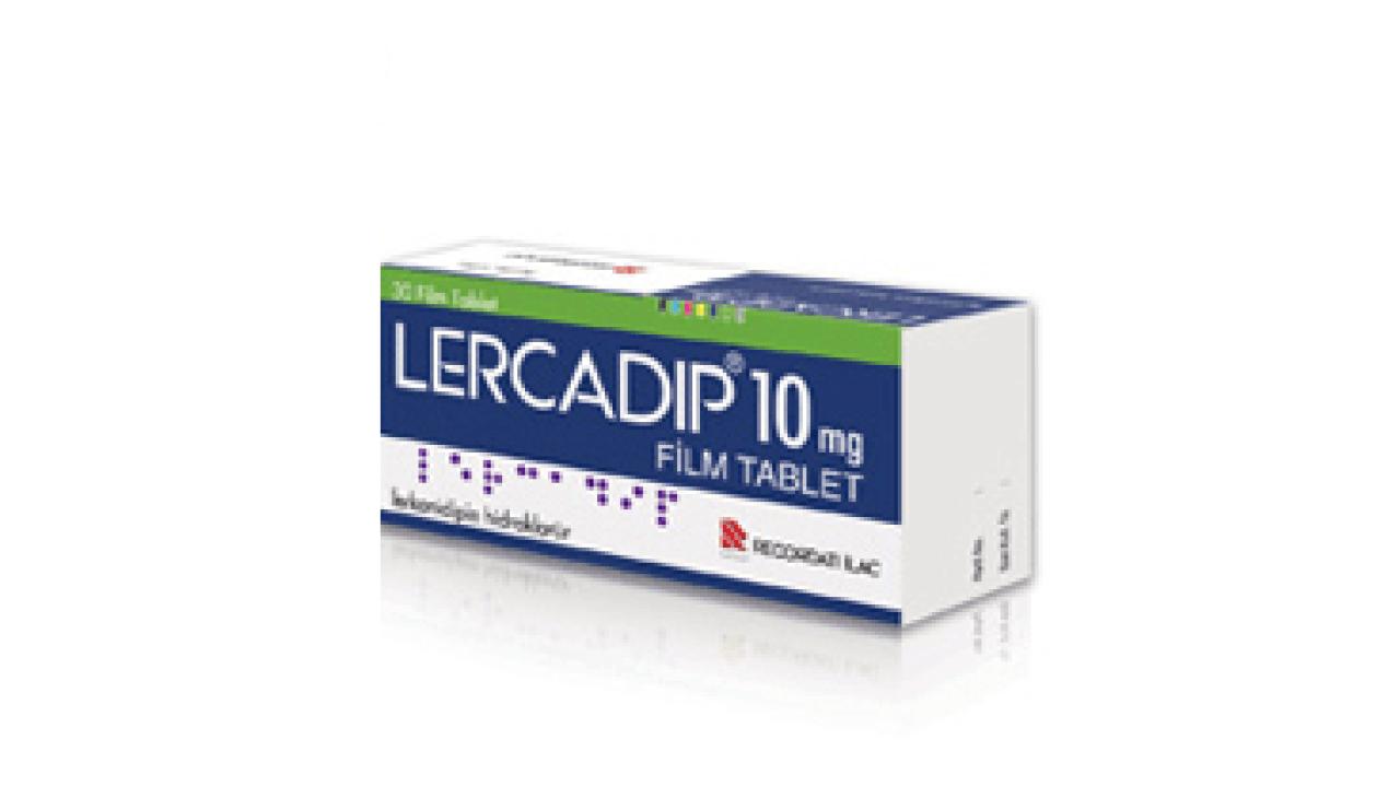 Lercadip 10 mg Film Tablet 1