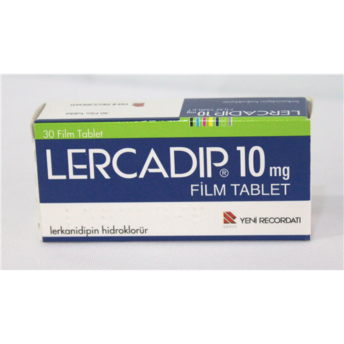 Lercadip 10 mg Film Tablet 2