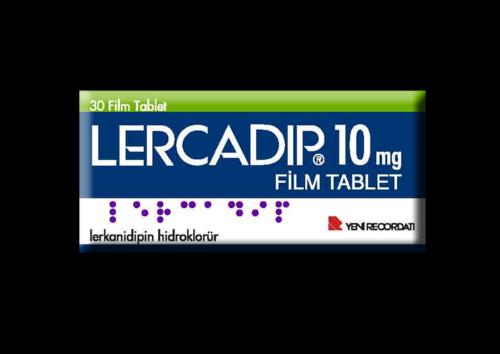 Lercadip 10 mg Film Tablet 3