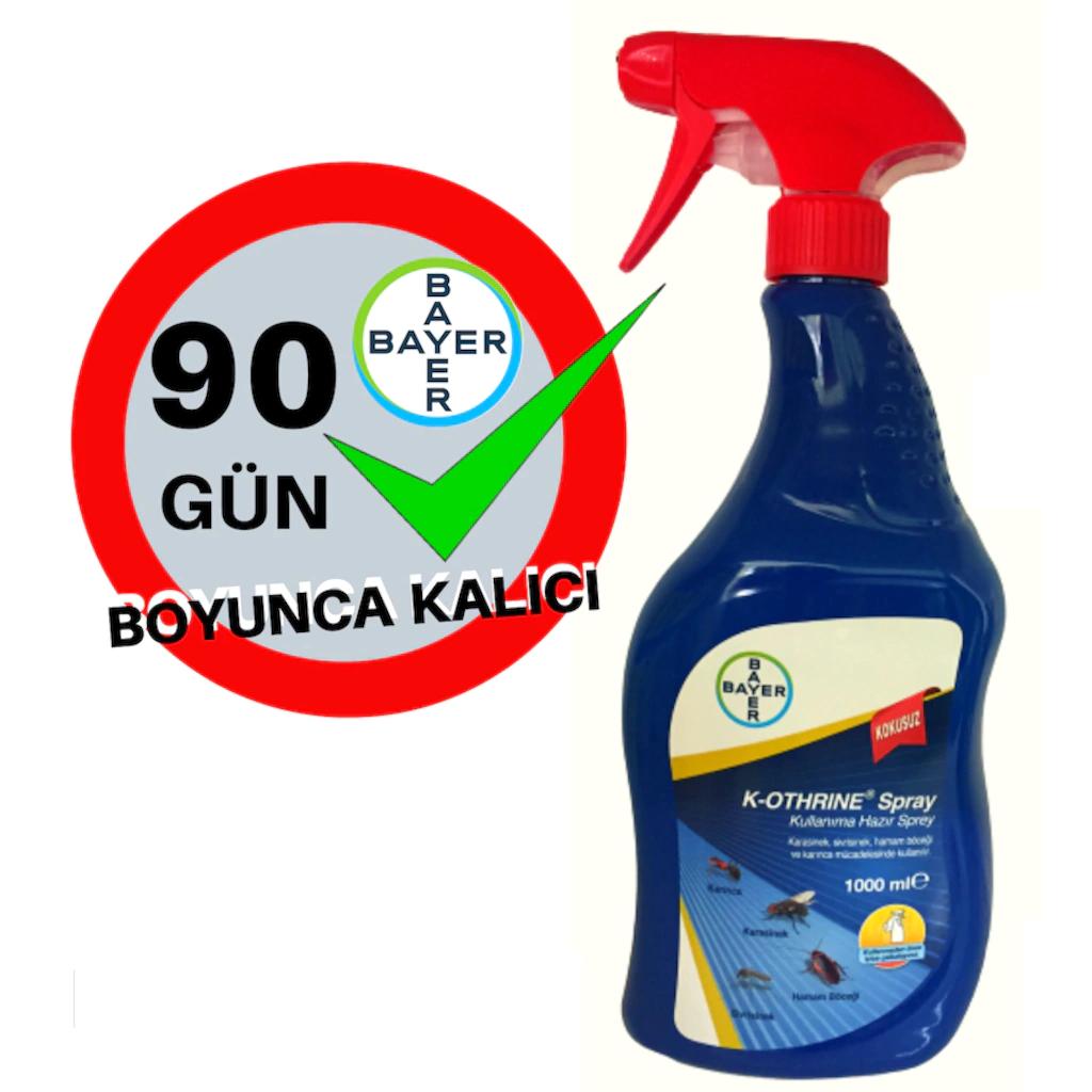 Bayer K-Othrine AL 1 L Genel Haşere Öldürücü 1
