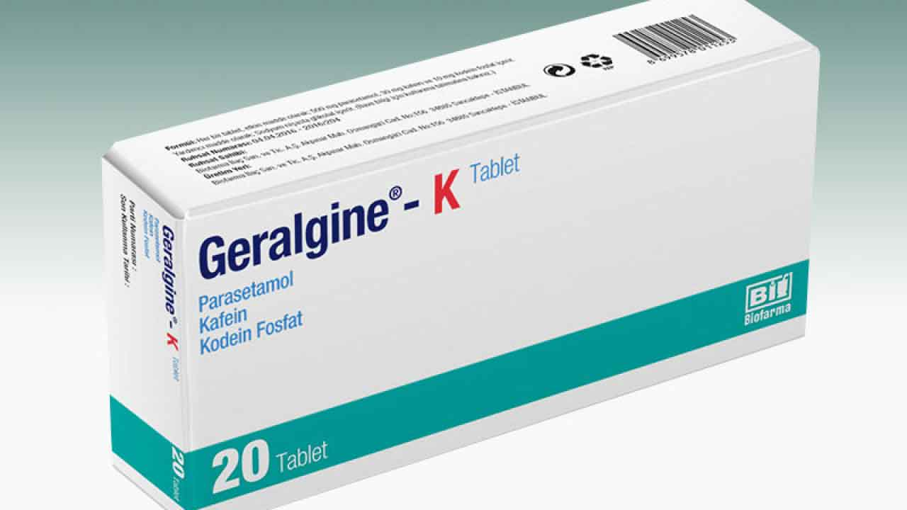 GERALGİNE-K Tablet 1