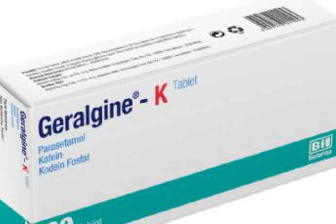 GERALGİNE-K Tablet 3
