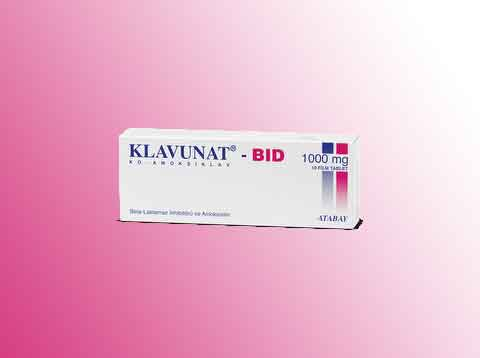 KLAVUNAT BID 1000 mg Film Tablet 2
