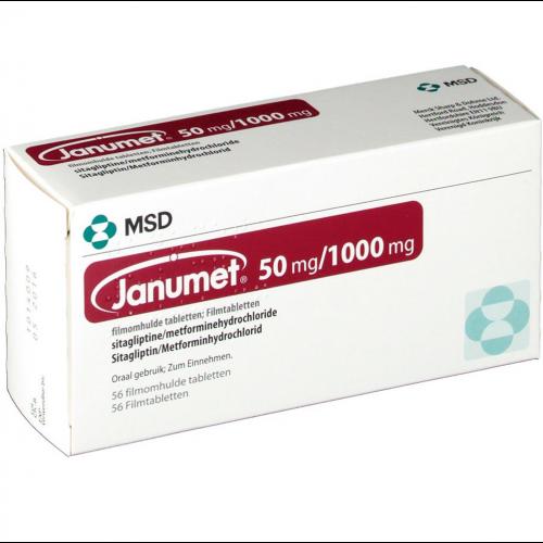 JANUMET 50/1000 mg 56 Film Kaplı Tablet